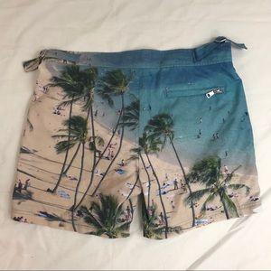 bfa731d0d64ba Jachs Swim - Jachs New York beach print men's swim shorts